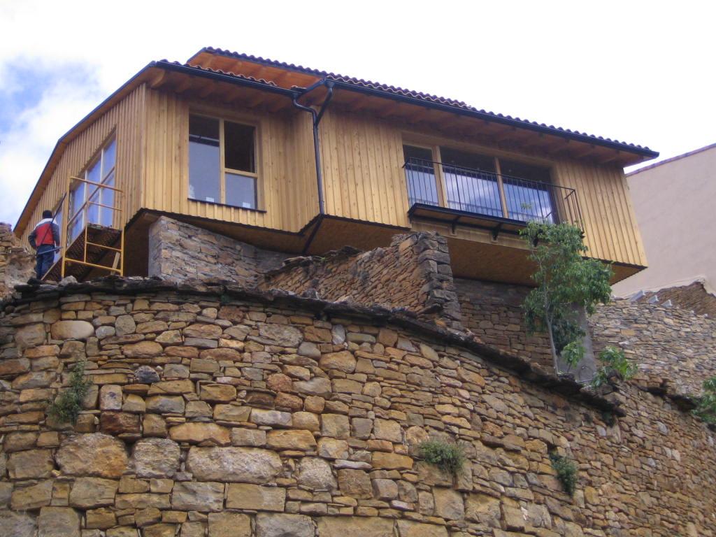Habitage passivhaus en edifici existent a claverol belart arquitectes t cnics slp - Josep bunyesc ...